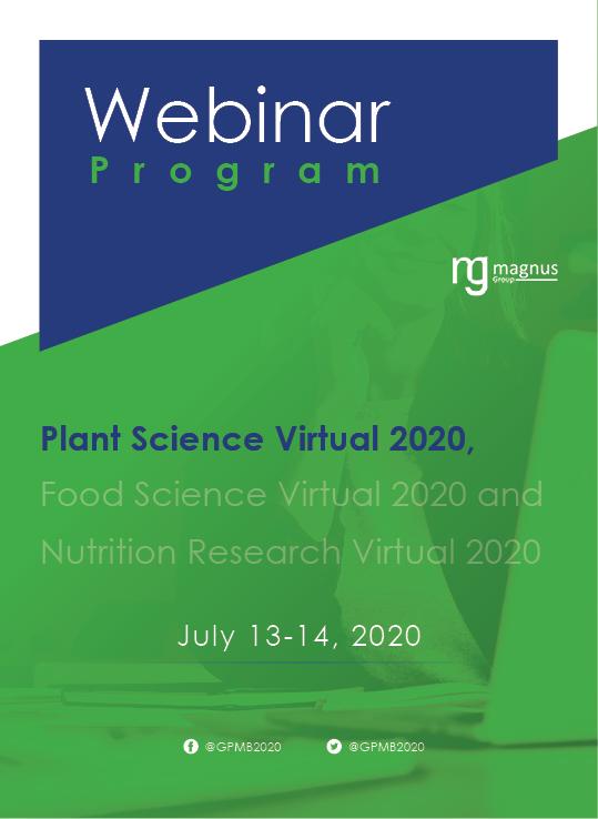 1st Edition of International Webinar on Plant Science and Molecular Biology | Online Event Program